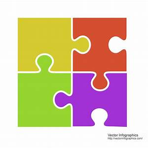 Jigsaw puzzle pieces Free Download Vector Image #58 ...