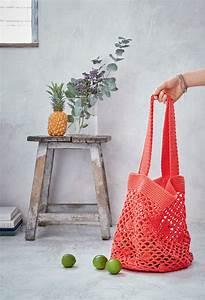 Faire Un Sac : diy z ro d chet faire un sac filet au crochet marie claire ~ Nature-et-papiers.com Idées de Décoration
