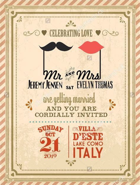 simple wedding invitation templates psd ai word