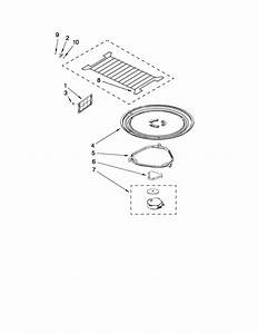 Turntable Parts Diagram  U0026 Parts List For Model Mh2175xsb4