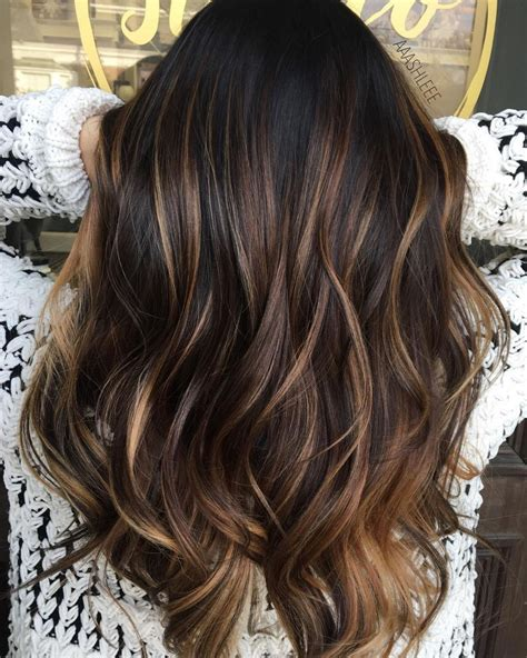 Brown Hair With Black by 60 Hairstyles Featuring Brown Hair With Highlights In