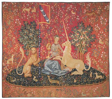 Tapisserie Dame à La Licorne by La Dame A La Licorne La Vue Tapestry Luxury Tapestries