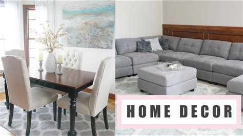 home decor haul updates bbw  woven homegoods tj