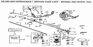 29 Craftsman 32cc Weedwacker Parts Diagram
