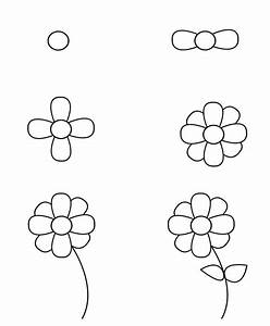 How To Draw A Flower Step By Step – Thin Blog