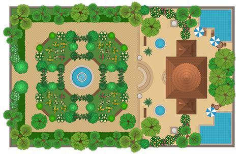 conceptdraw samples building plans landscape  garden