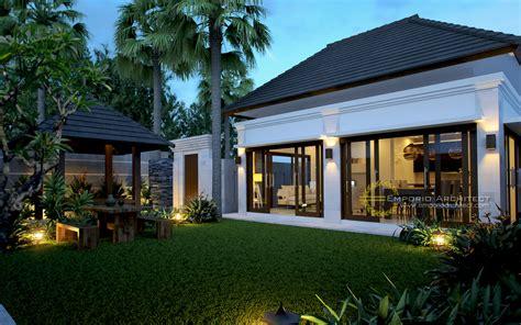 desain rumah villa  bali mabudicom