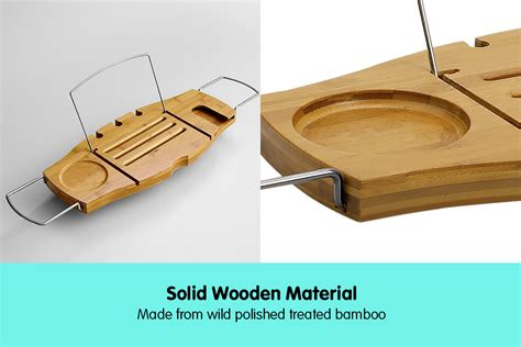 bamboo bathtub caddy with wine glass holder new bathroom bamboo bath caddy wine glass holder tray