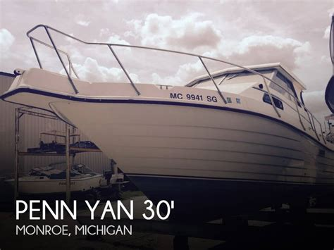 Penn Yan Boats For Sale In Michigan by For Sale Used 1997 Penn Yan 305 Rage In