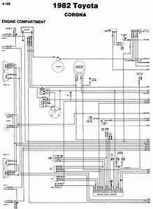 Toyota Corona 1982 Wiring Diagrams