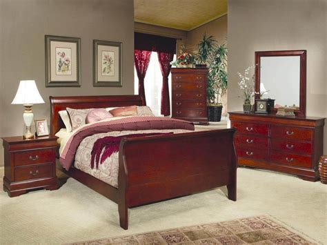 coaster louis philippe  piece sleigh bedroom set