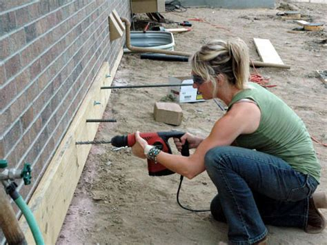 build  composite deck  tos diy