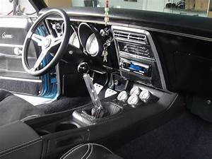 A Few Interior Pics Of My 68 U0026 39  Camaro With Single Din Radio