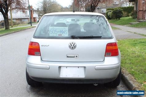 Volkswagen Cars For Sale by 2001 Volkswagen Golf For Sale In Canada