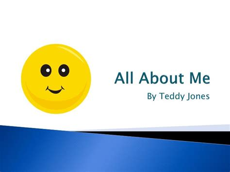 PPT - All About Me PowerPoint Presentation - ID:4880256