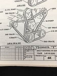 1974 350 Belt Routing  Alignment