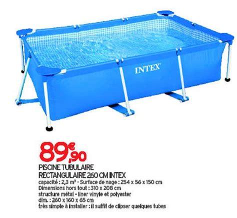 piscine tubulaire leclerc les piscines hors sol idea mc