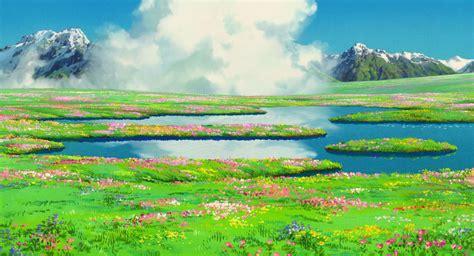 Howl S Moving Castle Wallpaper Widescreen Manga Monday Studio Ghibli 39 S Beautiful Backgrounds Impact Books
