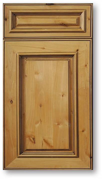 Cabinets Alder Knotty Kitchen Maple Door Stain