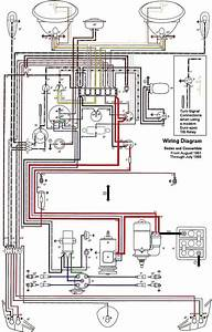 1970 Vw Beetle Electrical Wiring Diagram
