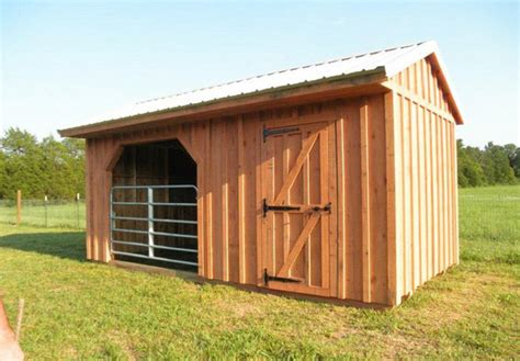 Run In Shed For Horses by Run Ins And Sheds Portable Barn Manufacturer