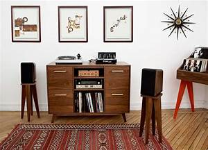 Meuble Pour Vinyle : meuble hi fi vinyle ouvert vintage ~ Teatrodelosmanantiales.com Idées de Décoration