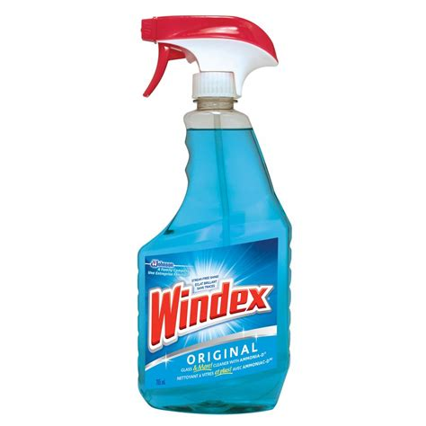 cleaning with ammonia windex original 765ml glass cleaner with ammonia d lowe s canada