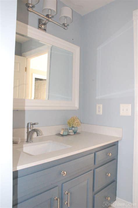 bm mt rainier gray paint bathroom grey