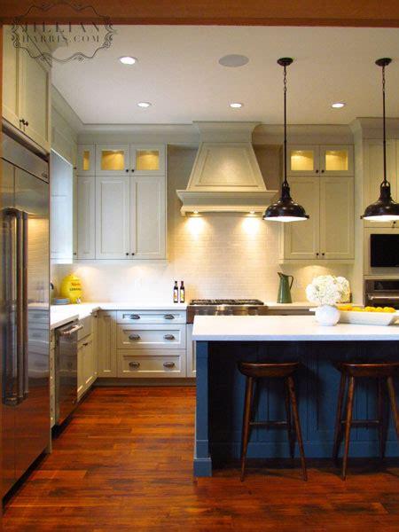 blue kitchen island vintage kitchen jillian harris