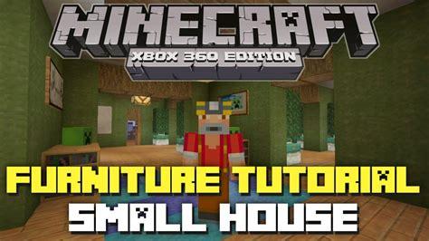 minecraft xbox  furniture inspiration  ideas small suburban house youtube