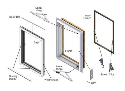 andersen perma shield casement window replacement parts