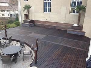 terrassenbau aus holz terrassenbau holz garten With französischer balkon mit garten terrassenbau berlin