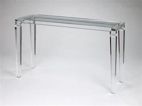 Table Console Transparente