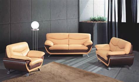 canap faux cuir choisissez un canapé bicolore moderne archzine fr