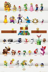 Super Mario Brothers Characters - Bing images
