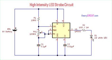 High Intensity Led Strobe Circuit Theorycircuit