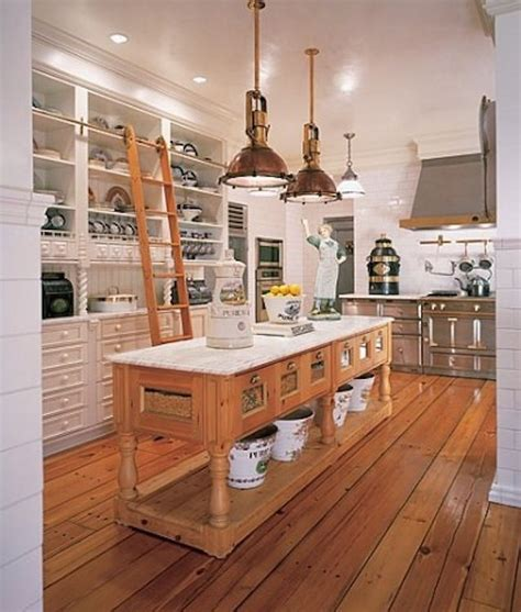 custom kitchen islands that look like furniture repurposed reclaimed nontraditional kitchen island elizabeth barnes