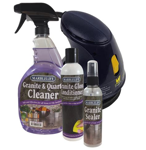 granite care countertop clean seal  care kit