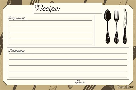 recipe card clipart pictures  cliparts pub