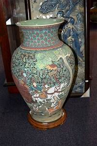 Large Thai Pottery Floor Vase 39Baan Celadon39 And