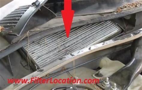 2007 Monte Carlo Fuel Filter by Chevrolet Montecarlo Cabin Air Filter Location