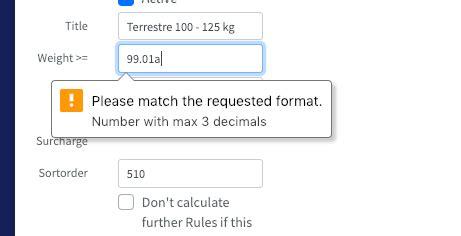 html how can i create a custom message when an html5