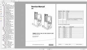Toyota Forklift Truck Service Manuals Pdf 4 34gb Dvd