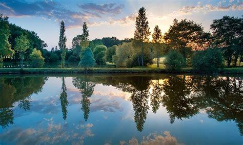 sunset colorful reflection  photo  pixabay
