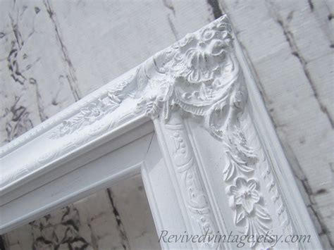 large white shabby chic picture frame wedding portrait frame for sale white shabby chic picture