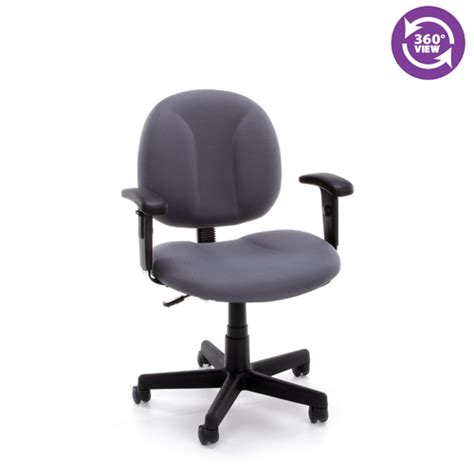 secretarial task office chair adjustable arms fmo 105aa