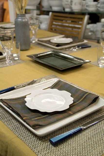 square plate table setting weekly table setting harvest wheat didriks