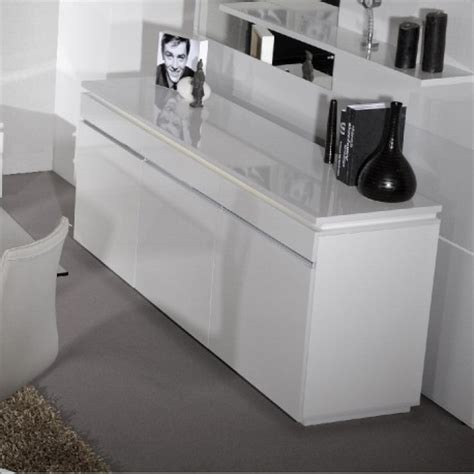 High Gloss Sideboards Uk by Electra White High Gloss Sideboard With Lights
