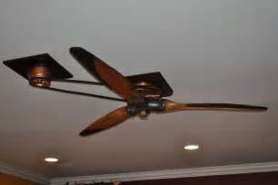 vintage airplane ceiling fan home design ideas