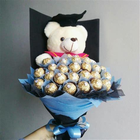 jual bouquet coklat ferrero rocher  roka  lapak